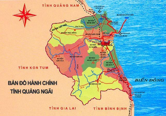 Từ Hà Nội đi Quãng Ngãi bao nhiêu km?