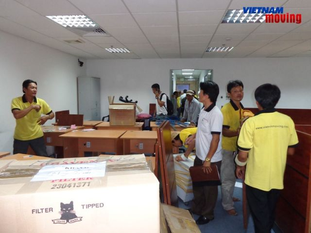 Dịch vụ chuyển văn phòng trọn gói tại TP.HCM