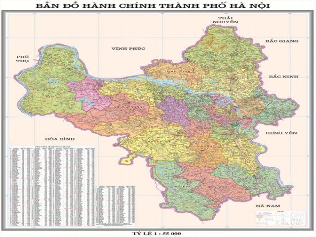 Từ Hà Nội đi Thạch Thất bao nhiêu km?