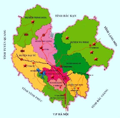Từ Hà Nội đi Thái Nguyên bao nhiêu km?