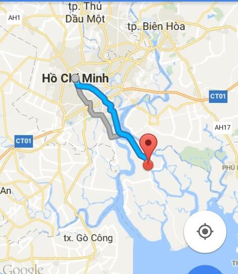 Từ TP.Hồ Chí Minh đi Cần Giờ bao nhiêu km?