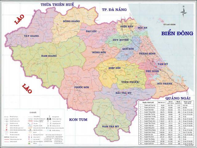 Từ TP.HCM đi Quảng Nam bao nhiêu km?
