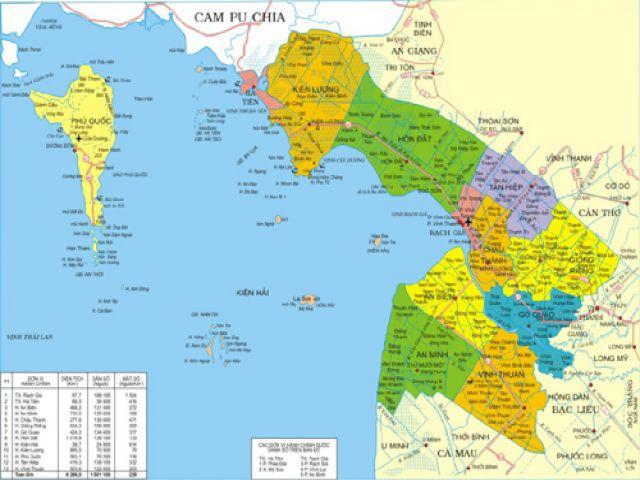 Từ Cần Thơ đi đảo Nam Du bao nhiêu km?