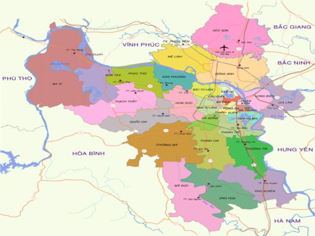 Từ Hà Nội đi Mê Linh bao nhiêu km?