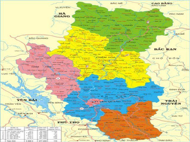 Từ Hà Nội đi Tuyên Quang bao nhiêu km?