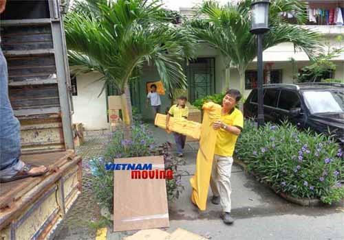 Dịch vụ chuyển nhà trọn gói giá rẻ quận 12