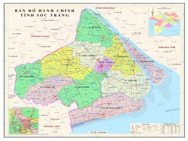 Từ Hà Nội đi Sóc Trăng bao nhiêu Km?