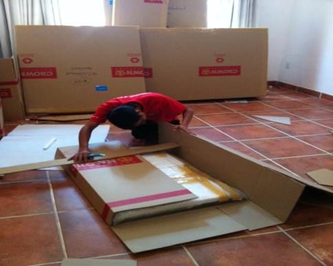 Hướng dẫn tháo lắp tủ khi chuyển nhà
