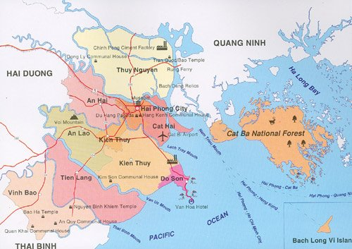 Từ Hà Nội đi Hải Phòng bao nhiêu km?