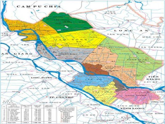 Từ TPHCM đi Đồng Tháp bao nhiêu km?
