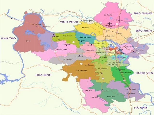 Từ Hà Nội đi Sơn Tây bao nhiêu km?