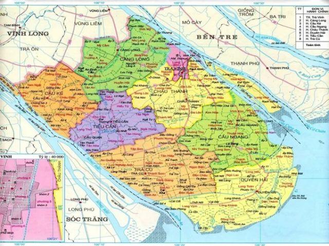 Từ Hà Nội đi Trà Vinh bao nhiêu km?