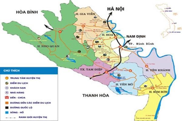 Từ Hà Nội cách Ninh Bình bao nhiêu km?