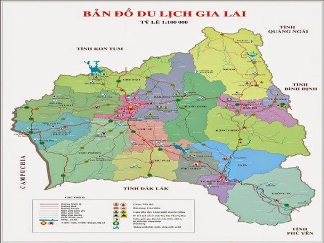Từ Hà Nội đi Gia Lai bao nhiêu Km?