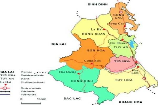 Từ Hà Nội đi Phú Yên bao nhiêu km?