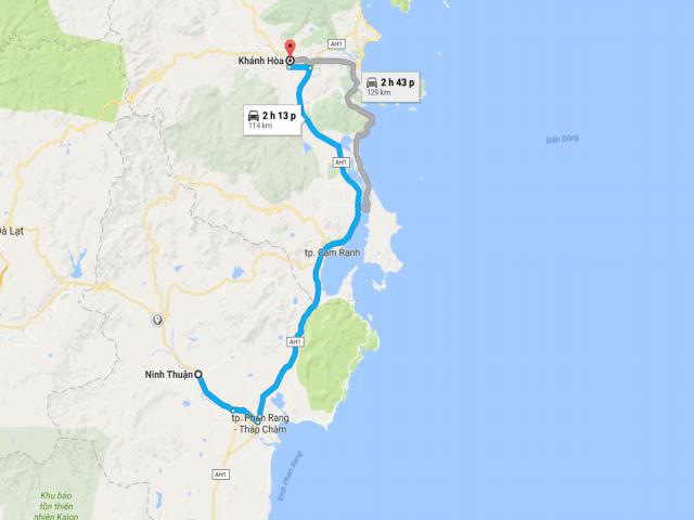 Từ TPHCM đi Phú Yên bao nhiêu km?