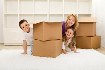 Những điều cần lưu ý khi chuyển nhà có trẻ em