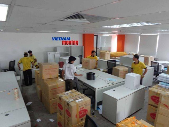 Quy trình sắp xếp đồ đạc của dịch vụ chuyển văn phòng TPHCM
