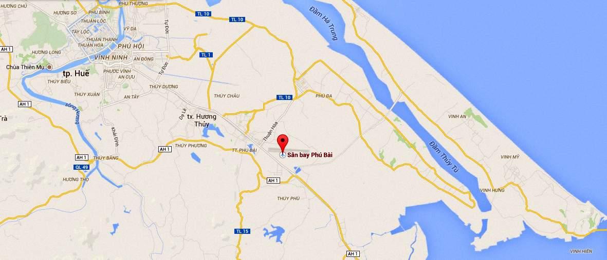 Từ thành phố Huế đi Phú Bài