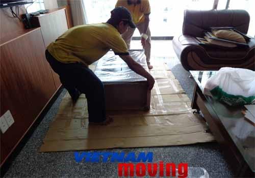 Trình tự thực hiện hợp đồng chuyển nhà