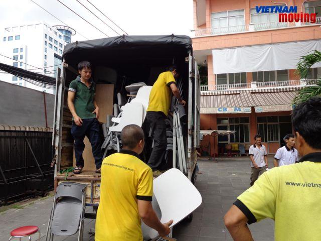 dịch vụ chuyển nhà trọn gói ở Homyland