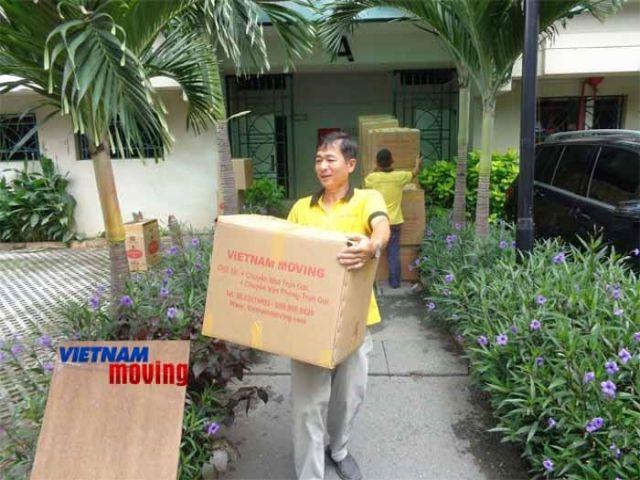Dịch vụ chuyển nhà trọn gói ở căn hộ Imperia An Phú