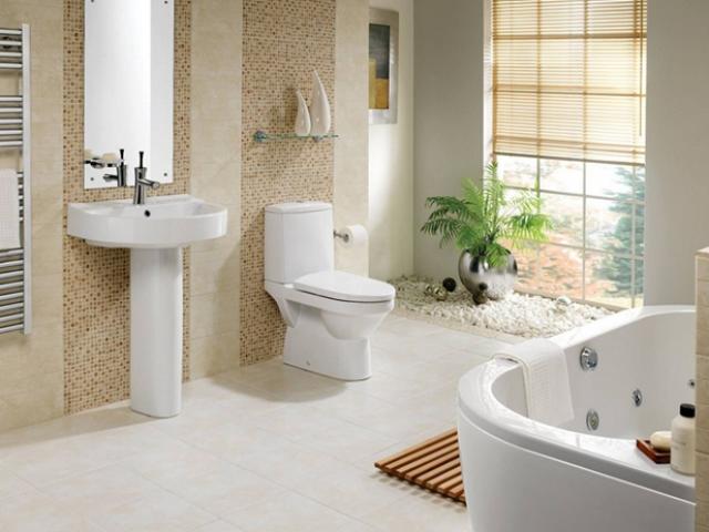 Cách bài trí phòng tắm sau khi chuyển nhà