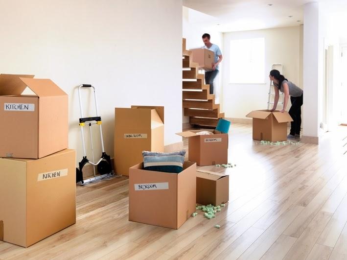 giảm bớt gánh nặng khi chuyển nhà