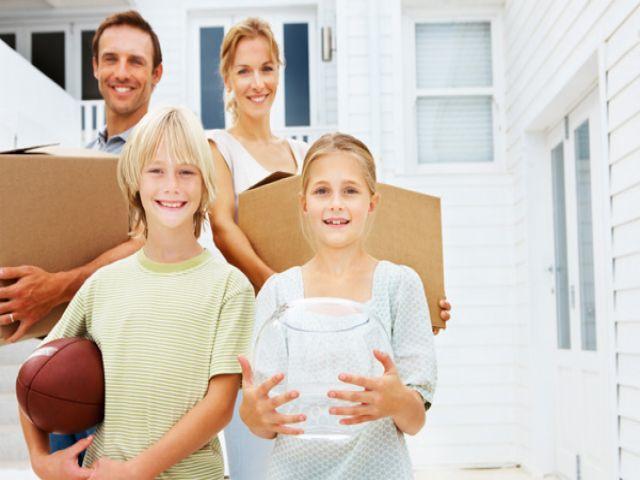 Cách bảo vệ sức khỏe cho bé khi chuyển nhà