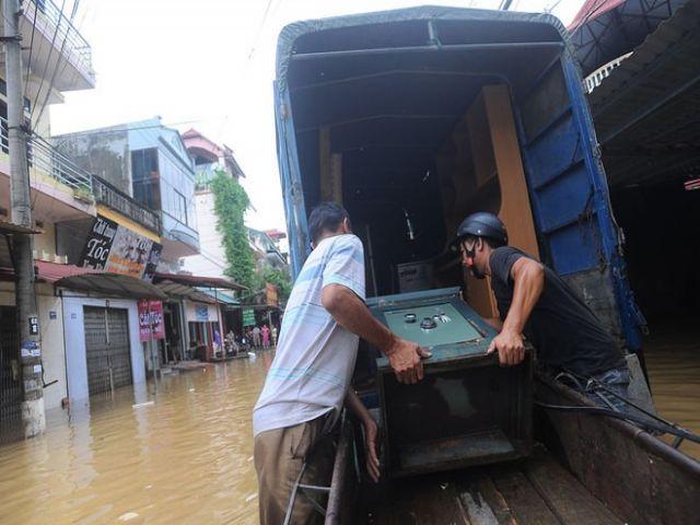 Cách vận chuyển nhà khi bị mưa ngập triều cường hình 1