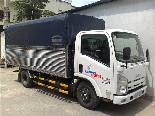 Cho thuê xe tải huyện Chương Mỹ, Hà Nội - hình xe tải