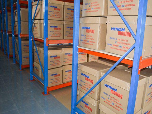 Cho thuê kho lưu trữ quản lý tài liệu và hàng hóa