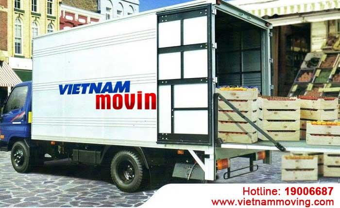 Cho thuê xe tải chuyển nhà, văn phòng, chở hàng huyện Hóc Môn