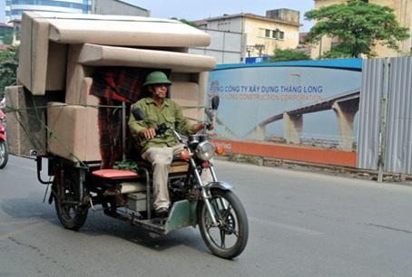 Các loại xe thích hợp để chuyển nhà