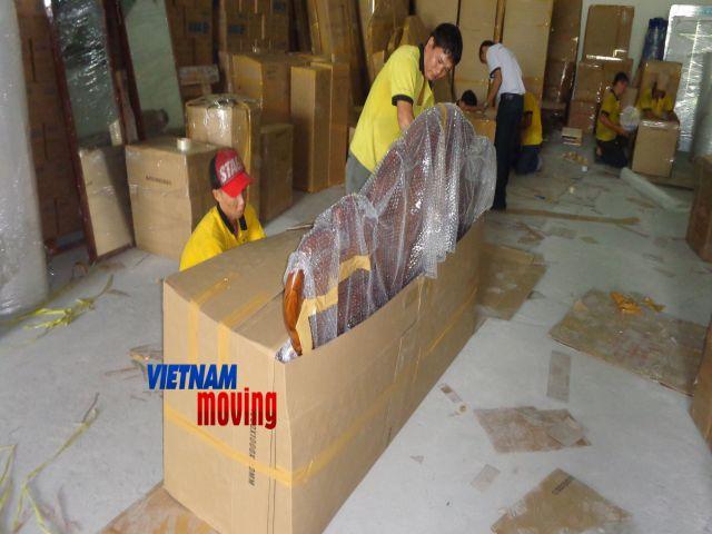 Quy trình khi chuyển nhà trọn gói.