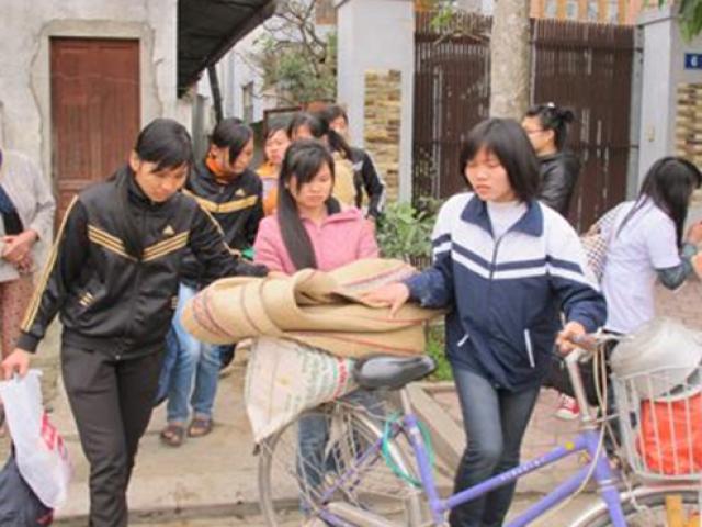 Cách chuyển nhà cho sinh viên năm nhất