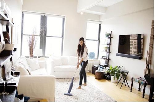Bí quyết tẩy mùi xi măng khi chuyển về nhà mới