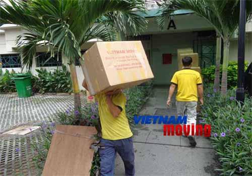 Dịch vụ chuyển văn phòng có bồi thường tài sản