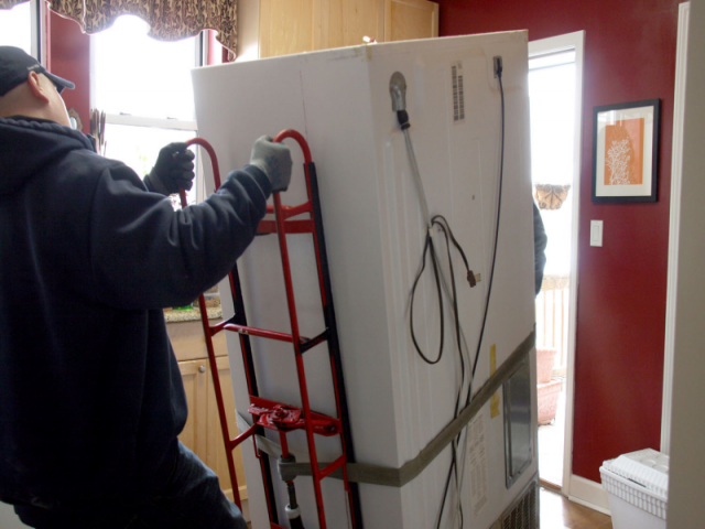 Cách vận chuyển tủ lạnh