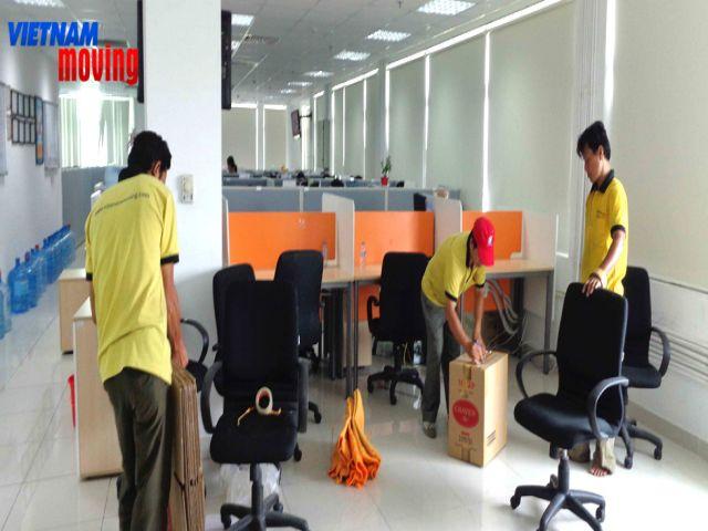 Dịch vụ chuyển văn phòng có bồi thường tài sản khi để xảy ra hư hại?