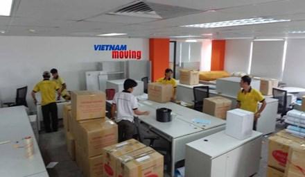 Chuyển văn phòng trọn gói tại quận Thanh Xuân