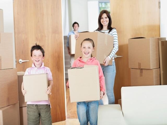 chuyển nhà có trẻ con