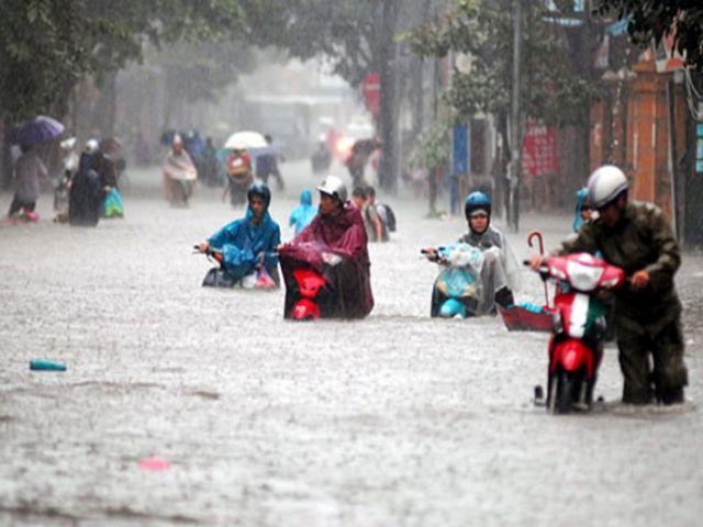 khi chuyển nhà mùa mưa bão