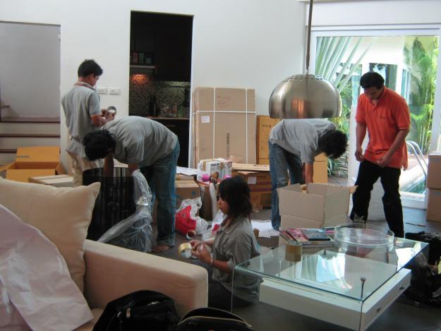 Công việc chuyển nhà trọn gói