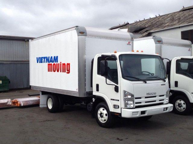 Hệ thống xe Công ty Vina Moving cung cấp dịch vụ chuyển nhà Bà Rịa Vũng Tàu