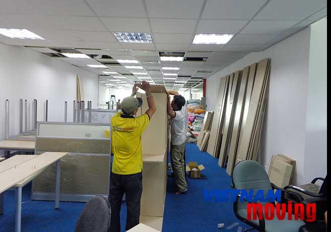 Đánh giá khách hàng về dịch vụ chuyển văn phòng tại Vinamoving