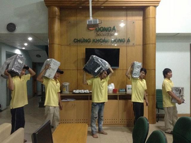 dịch vụ chuyển văn phòng trọn gói uy tín đảm bảo