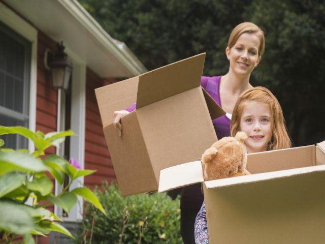 Giúp trẻ vui vẻ và hào hứng khi chuyển nhà