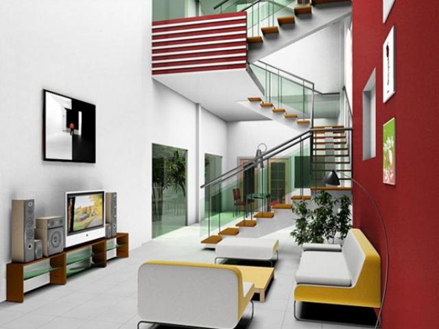 Nghệ thuật sắp đặt cầu thang khi chuyển về nhà mới