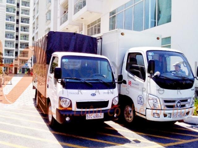 Cách sắp xếp đồ đạc thông minh trên xe tải khi chuyển nhà